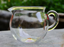 Glass gaiwan for puer tea Royalty Free Stock Image
