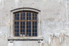 glass gammalt fönster Royaltyfria Bilder