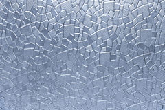 Glass geometric pattern texture Royalty Free Stock Photography