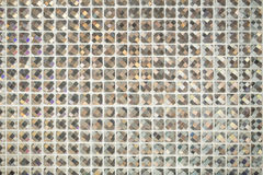 Glass glitter luxury tile for background. Royalty Free Stock Photography
