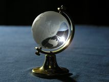 The glass globe stock photography