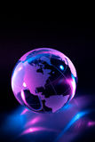 Glass globe stock illustration