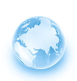 Glass globe Stock Images