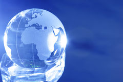 Glass globe Stock Photos