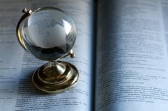 Glass globe Royalty Free Stock Photography