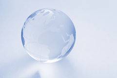 Glass globe ball Stock Photography