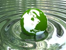 Glass globe. Stock Images