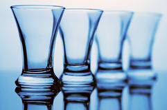 Glass goblet Stock Image