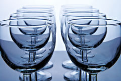 Glass goblet Royalty Free Stock Images