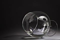 Glass goblet freedom drunkenness Stock Photography