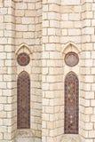 glass gotiskt nedfläckadt Royaltyfri Bild