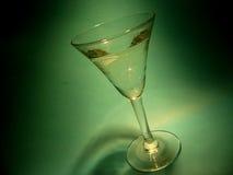 glass grön deltagare Arkivfoto