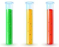 glass grön vikt för flaskor Arkivfoto