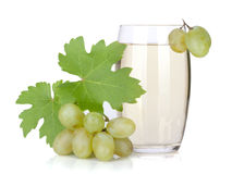 Glass of grape juice Royalty Free Stock Photos
