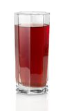 The glass of grape juice Stock Photography
