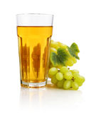 Glass of grape juice Stock Photo