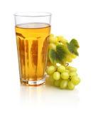Glass of grape juice Stock Image