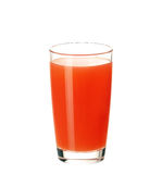 Glass of grapefruit juice Royalty Free Stock Image