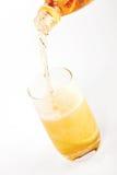glass hälla för lemonade Arkivfoto