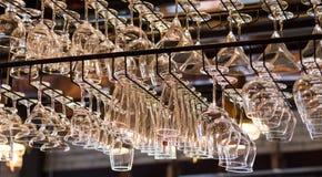 Glass hängning på tak Royaltyfri Fotografi
