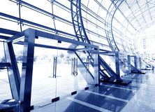 Glass hall Royalty Free Stock Images