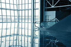 Glass hall stock images