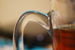 Glass handle Royalty Free Stock Images