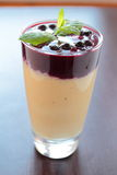 Glass with healthy smoothie Stock Image