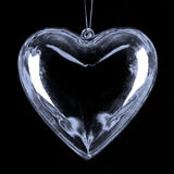 Glass heart pendent Royalty Free Stock Photos