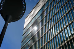Glass high rise Royalty Free Stock Image