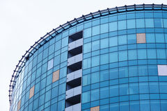 Glass high-rise office building architecture Royalty Free Stock Images