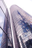 Glass high skyscraper modern city architecture Stock Photography
