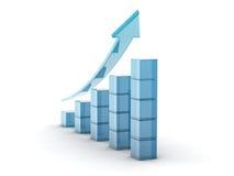 Glass histogram Stock Image
