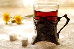 Tea. Silverware. Stock Photos