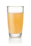 Glass of homemade apple juice Royalty Free Stock Image