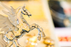 Glass horse royalty free stock photo
