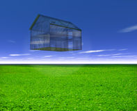Glass House Stock Image