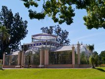 Glass house in Adelaide Royalty Free Stock Photography