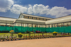Glass House. Famous Glass House at the Lalbagh Botanical Garden in Bangalore City, India royalty free stock photography