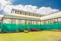 Glass House. Famous Glass House at the Lalbagh Royalty Free Stock Photography