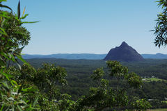 Glass House Mountains National park in Australia. Royalty Free Stock Image