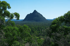 Glass House Mountains National park in Australia. royalty free stock photo