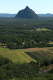 Glass House Mountains National park in Australia. Royalty Free Stock Photos
