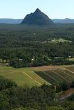 Glass House Mountains National park in Australia. Royalty Free Stock Photos