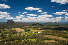 Glass house Mountains Stock Photos