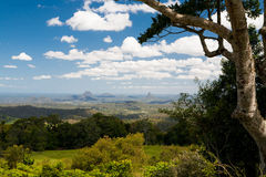 Glass House Mountains Royalty Free Stock Photography