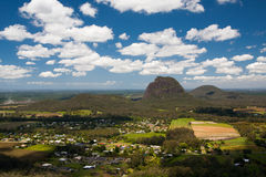 Glass House Mountains Stock Image