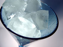 Glass of Ice stock images