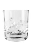 Glass of ice Stock Photography