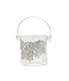 glass ice bucket Royalty Free Stock Photo